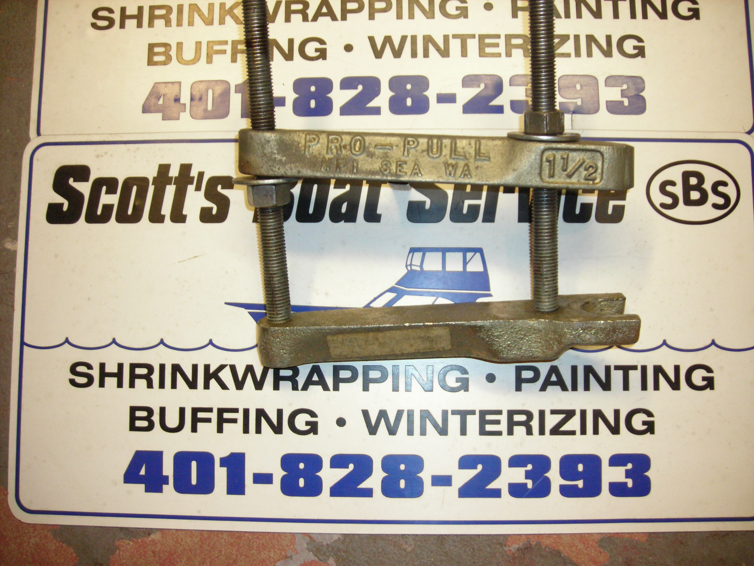 SCOTT'S BOAT SERVICE: REPAIRS PAGE